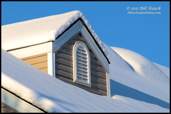 stlouis missouri us usa winter snow roof 10in 25cm yay 012011