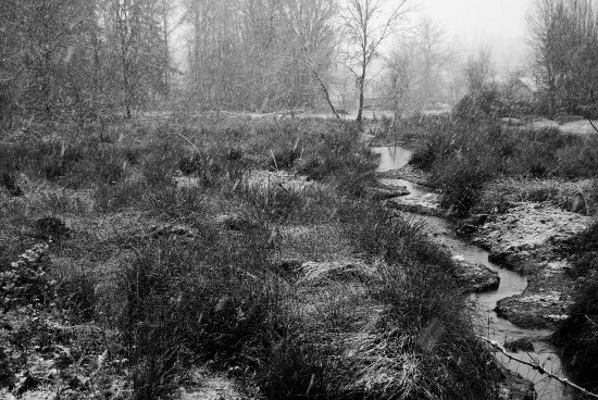 snow prairie river creek stream