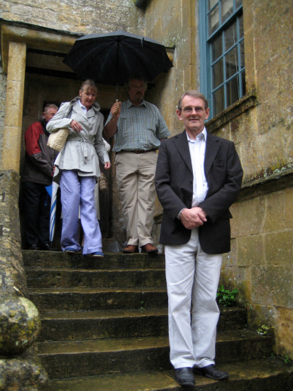 2 of 3. As a reward, we dragged them round Snowshill Manor in the belting rain! (They seemed to e...