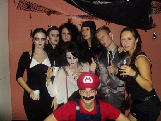 Our super duper Halloween! :)