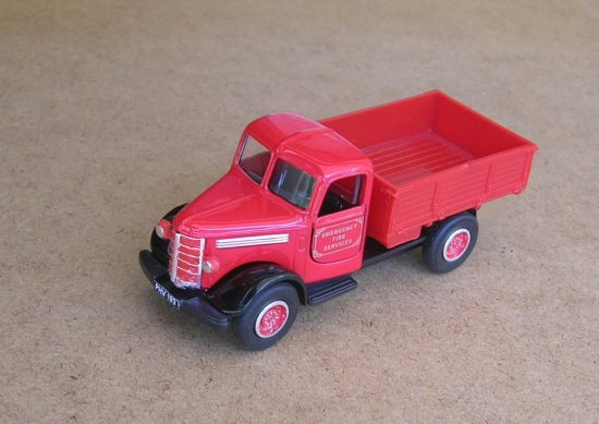 1939 bedford truck diecast 143scale toy car