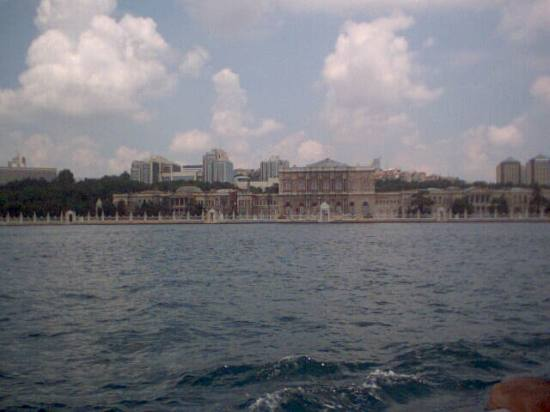 Dolmabahce palace in Istanbul (taken with t300 camera)