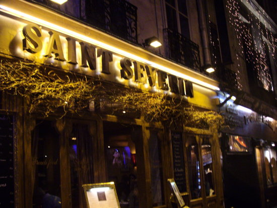 quartier latin paris france parigi restaurant french food