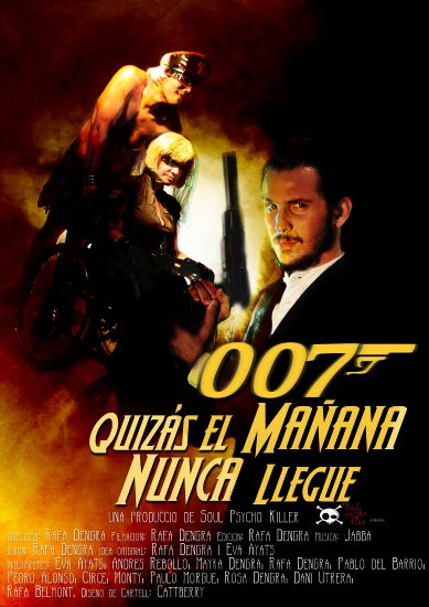 007 james bond cattberry alba keriz alma circe film cartel pelicula Rafa Dengra
