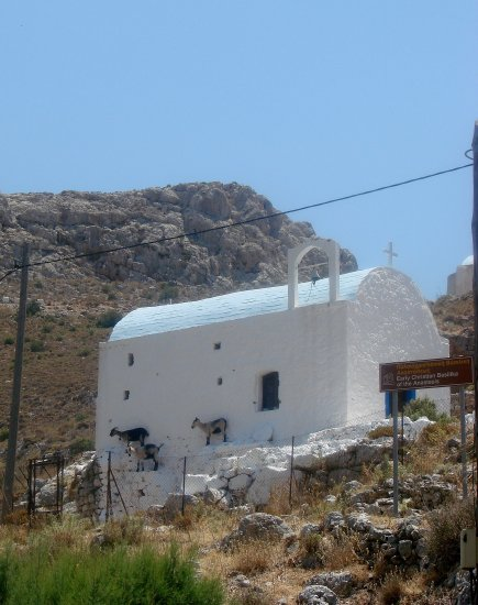 Greece Kalymnos architecture religion nature