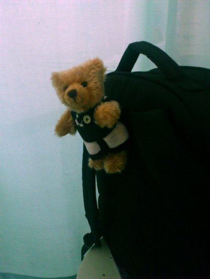 little bear, big backbag