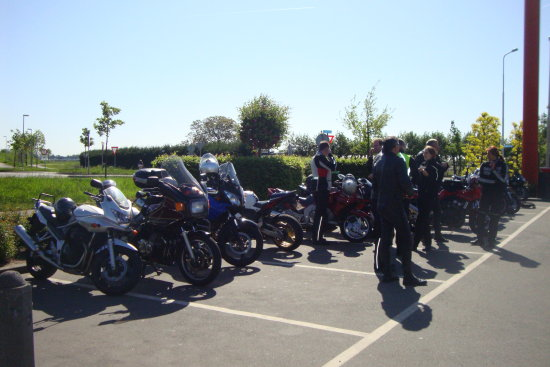 My bike and my buddies last tour trip in 2009