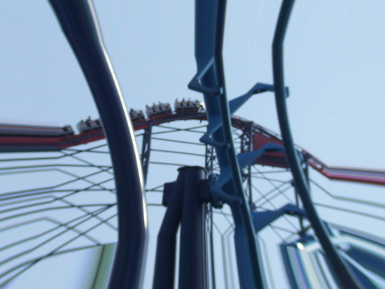 This is the gap between The big one and infusion at Blackpool pleasure beach i have edited it alr...