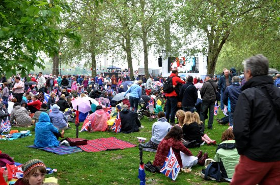 Jubilee celebration queen Elizabeth England London British batterseapark