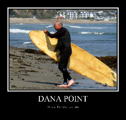 beach dana point surfer old guy