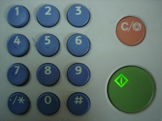 Photocopier Technology Office equipment on numbers