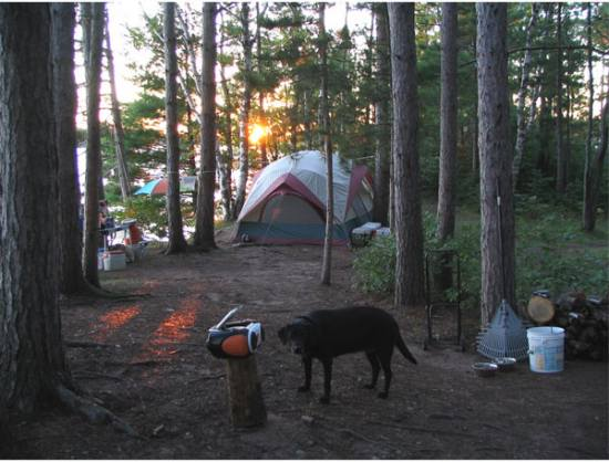 Beautiful campspot-Turtle Flambeau Flowage