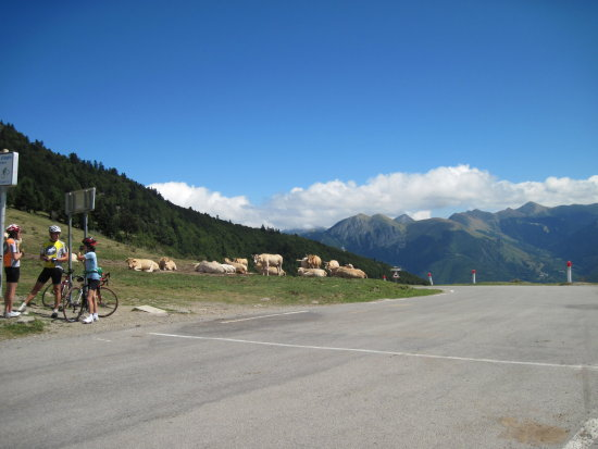 France Pyrenees Mountains Landscape Col de Aspin