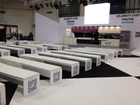 concept furniture hire for exhibition and event furniture rental