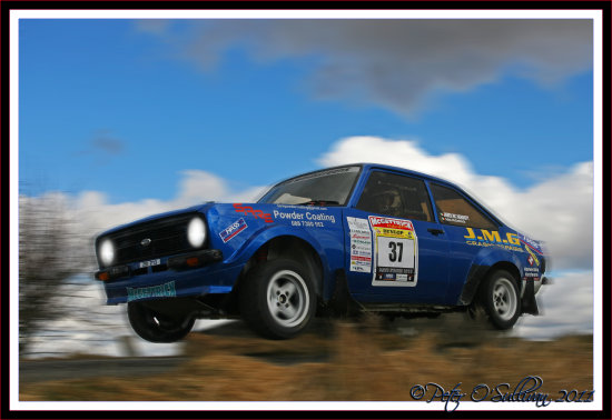Rally Escort MkII Ford Mayo Ireland Peter OSullivan