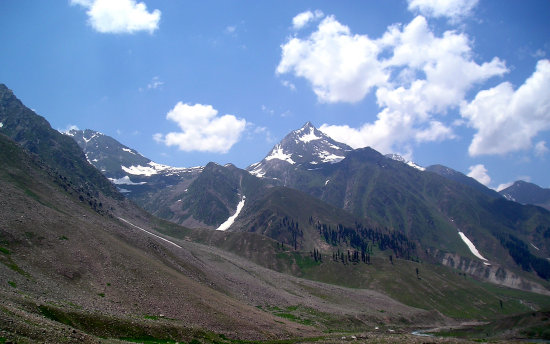 Summer Vacation- Another Peak on the way to Lake Lulusar.