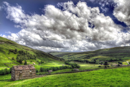 HDR Landscape North_Yorkshire