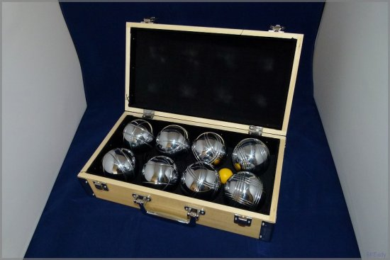 petanque ball box container game sport