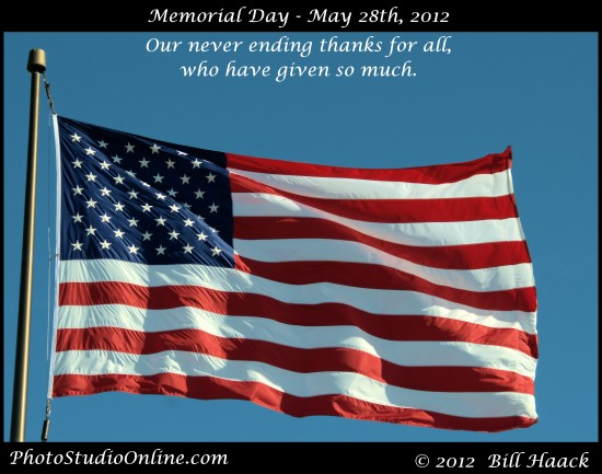 Mere words are insufficient to express our appreciation and gratitude for those that have served,...