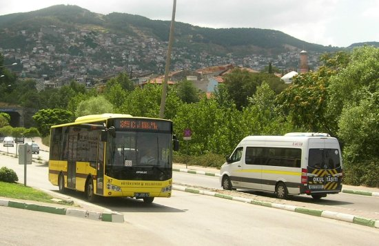 bursa turkey public bus