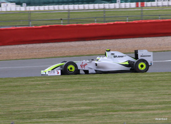 f1 silverstone 2009 Brawn GP Jenson Button