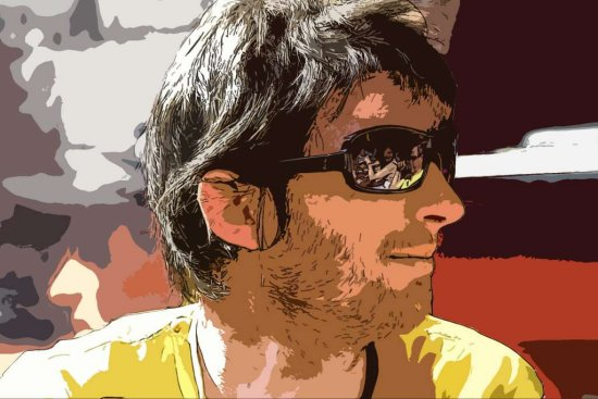 Shane Rouine Comic Photoshop