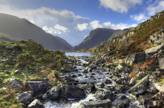 Landscape Ireland Kerry GapofDunloe River Mountain