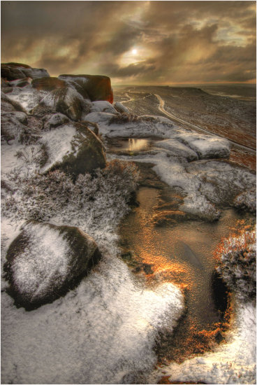 HDR Stanage_Edge Derbyshire