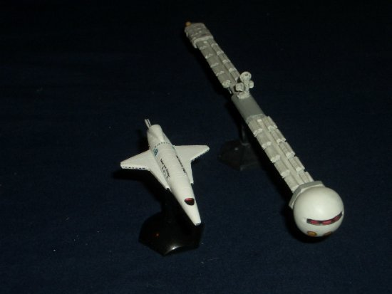 2001 SF science fiction model spaceships space