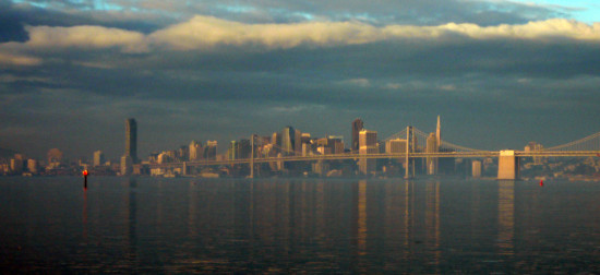 Reflectionthursday cityscape clouds sanfrancisco bay bridge