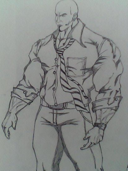 body guard sketch