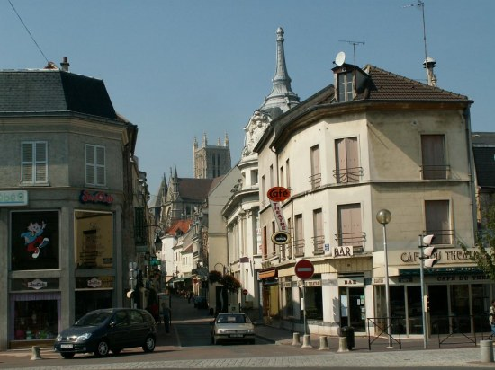 townscapes france architecture churches meaux