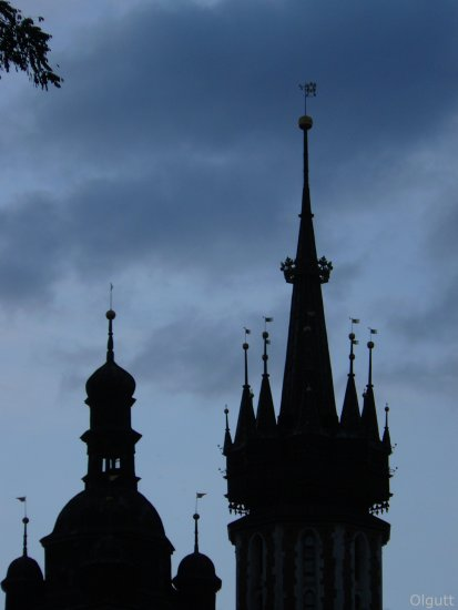 color sky Cracow