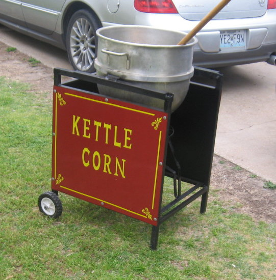 ken fannans kettle corn cooker