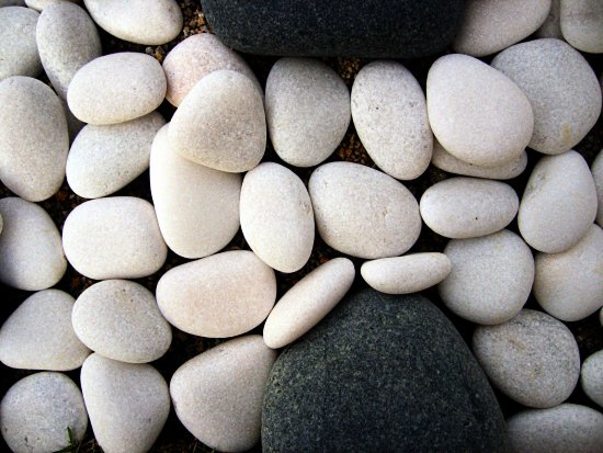 Stones Rocks Peebles Stone Rock Sand White Grey Hard Solid