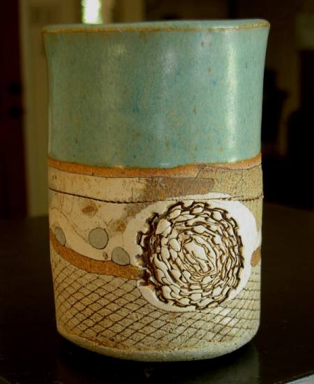 Ceramic coffee mug by Pat Hill of Davis California