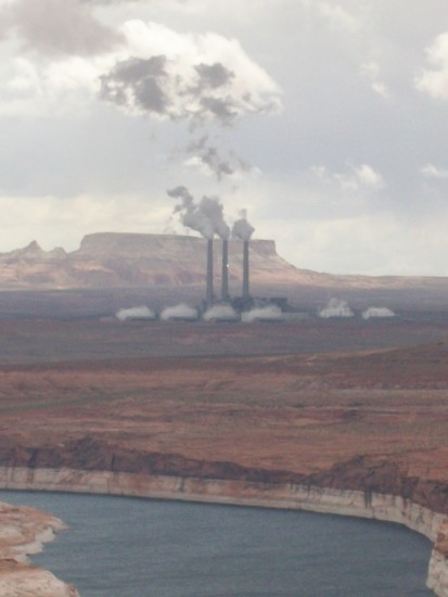 Power Plant Arizona Lake Powell