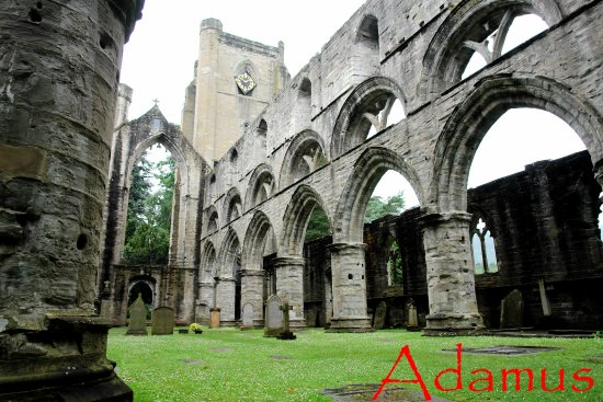 architecture dunkeld cathedral scotland