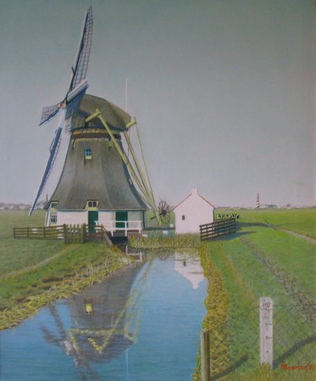 mill father painting reflectionthursday