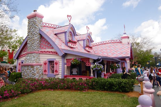 Minnie Mouse House Disney World