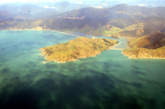 Aerial view near Nelson