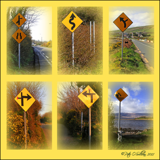 Road Signs Kerry Ireland