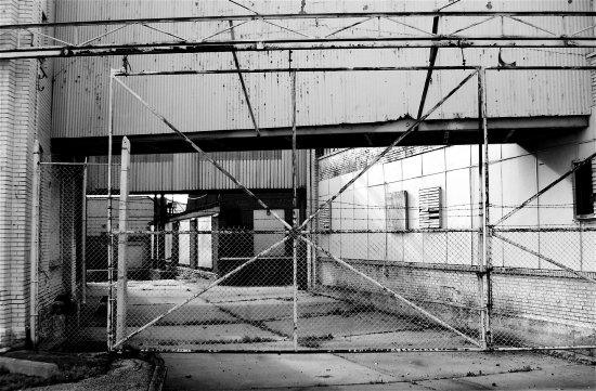 industry blackwhite bw texture chainlink fence angles