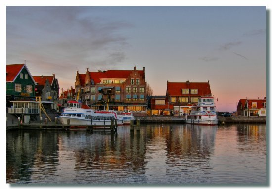 etherlands volendam water harbour boat nethx volex harbn waten boatn