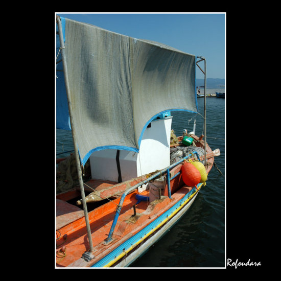boat water sea skala kalloni lesvos greece