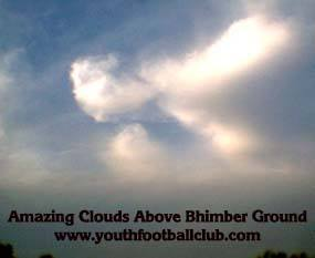 Clouds Sky Bhimber Football Soccer match pakistan ajk youth club skies