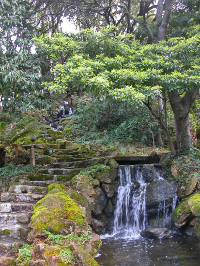 waterfall park stairs stairway oakland oaklandfph