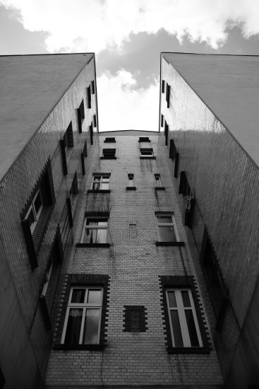 scenery blackwhite building heaven