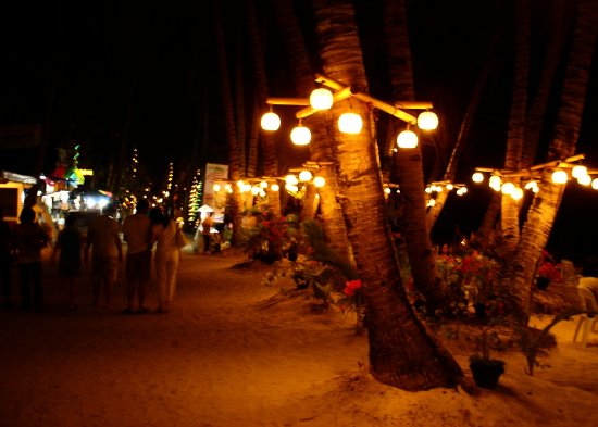 lamppostfriday jett366 night photography boracay capiz beach sand