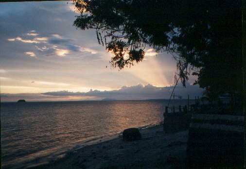 Anilao Batangas beach sunset Philippines